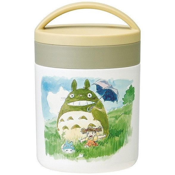 Lunch Bento Box - Thermal Delica Pot 300ml - Stainless Steel - Totoro Ghibli 2017