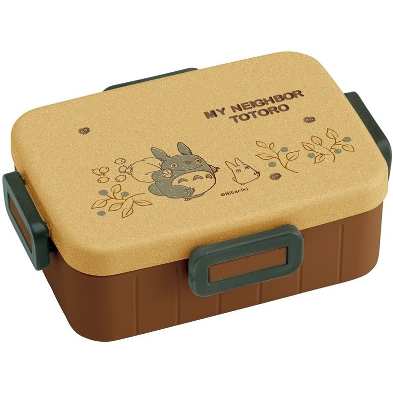 Lunch Bento Box - 650ml - 4 Lock - Microwave - Made in Japan - Totoro - 2016 (new)