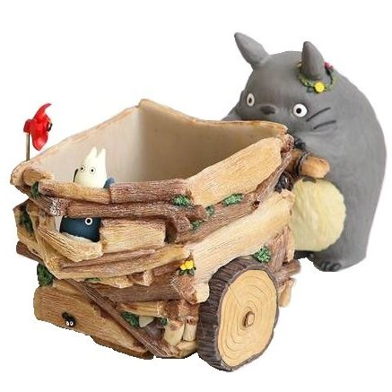 1 left - Planter Pot / Container - Figure - Sho & Chu Totoro - Ghibli - 2016 - no production (new)