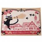 Lunch Mat - 33x48cm - Gobelins Tapestry - Jiji - Kiki's Delivery Service - Ghibli - 2017 (new)