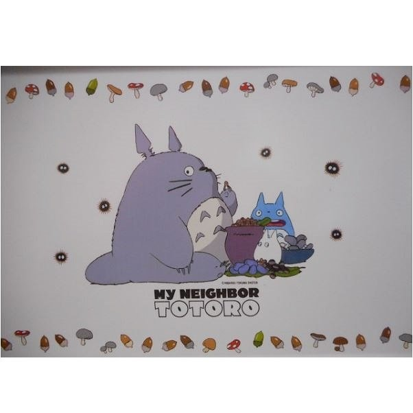 Tray - W40cm - Noritake - Made in Japan - Totoro - Ghibli - no production (new)