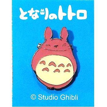 2 left - Pin Badge - Pink - Totoro - Ghibli - no production (new)