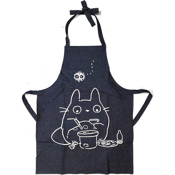 Apron - Cotton Canvas - 2 Pockets - Totoro - Ghibli - Sun Arrow - 2017 (new)
