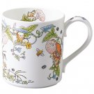 Mug Cup - 400ml - Bone China - Hirugao - Noritake - Totoro - Ghibli