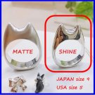 RARE 1 left - Ring size 9 - Silver 925 SHINE - Handmade in Japan - Totoro Ghibli Museum (gift wrap)