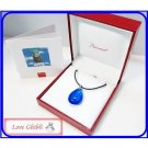 5 left - Baccarat Pendant Necklace Crystal France Crest Laputa in the Sky Ghibli Museum (gift wrap)