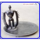4 left -  Metal Figure Tray -  Made in Japan - Head Arm Move Laputa Robot Ghibli Museum (gift wrap)