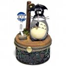 RARE 1 left - Figure & Stained Glass Case - Accessory Case - Totoro Bus Stop - Ghibli no production