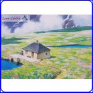 1 left - Postcard - Hanazono Howl's Moving Castle Made Japan Oga Kazuo Art Collection Ghibli Museum