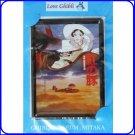 2 left - Tin Postcard - Made in Japan - Porco Rosso / Kurenai no Buta - Ghibli Museum no production
