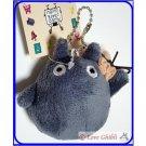 4 left - Mascot Plush Doll - Strap Holder - Obake Black Totoro - Nekobus ni Notte - Ghibli Museum