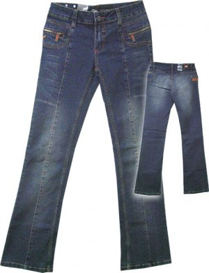 Ecko Red Embroidered Jeans