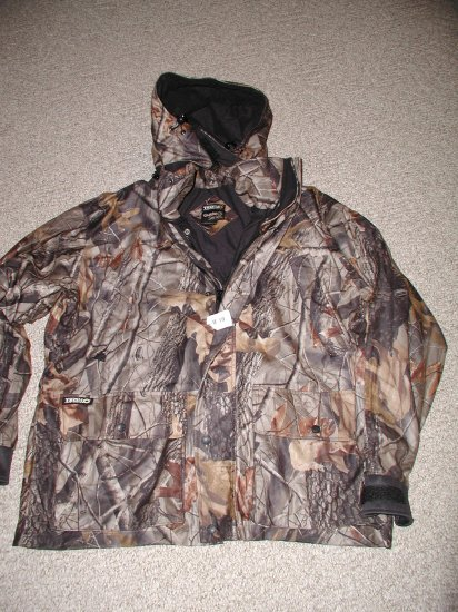Guide Series Camo Hooded Insulated Jacket Large