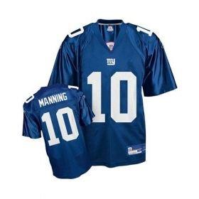 Eli Manning New York Giants #10 Home NFL Jersey M - XXXL