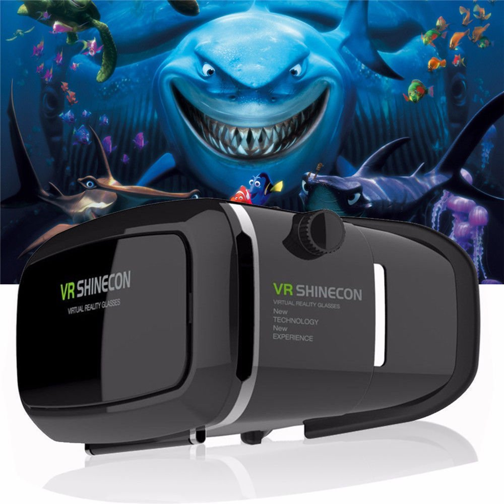 New Version 3D VR Virtual Reality Glasses Headset. Adjustable 3D Glasses