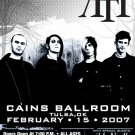 AFI sick of it all THE DEAR DEPARTED concert poster collectible
