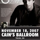 CHRIS CORNELL rare promotional CONCERT poster