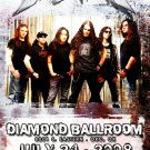 DRAGONFORCE rare Promotional CONCERT poster collectible