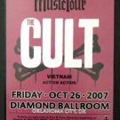 THE CULT rare promotional CONCERT POSTER collectible
