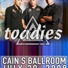 TOADIES rare promotional CONCERT poster collectible