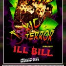 TWIZTID toxic terror tour ILL BILL CONCERT POSTER