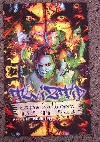 TWIZTID rare promotional concert poster Collectible