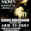 SENSES FAIL saosin Alexisonfire CONCERT POSTER collectible