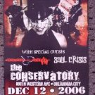 OTEP soul crisis Concert tour promotional poster collectible