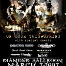 MUSHROOMHEAD psyclon nine Soul Crisis Concert poster collectible