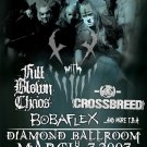 MUSHROOMHEAD full blown chaos CONCERT POSTER bobaflex collectible