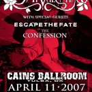 BULLET FOR MY VALENTINE rare CONCERT poster confession Collectible
