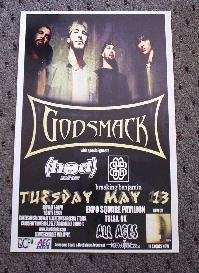 GODSMACK rare promotional Concert TOUR poster collectible