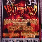 INSANE CLOWN POSSE promotional CONCERT poster Boondox collectible