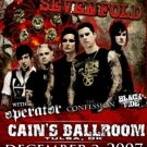 AVENGED SEVENFOLD perator Promotional CONCERT POSTER