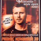 DIERKS BENTLEY jack ingram Promotional CONCERT poster