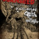 "August Burns Red with Skylit Drive & Sky Eats Airplane & Greeley Estates 11"" x 17"" Concert Poster"