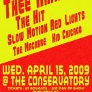 "Thee Armada with The Hit & Slow Motion Red Lights & Kid Chicago 11"" x 17"" Concert Poster"