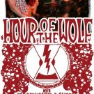 "Hour of the Wolf with Red City Radio & Glister 11"" x 17"" Concert Poster"