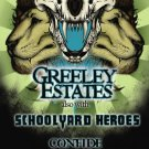 "Greeley Estates with Schoolyard Heroes & Confide promotional 11"" x 17"" Concert Poster"