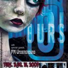 "OURS with FM Underground promotional 11"" x 17"" Concert Poster"
