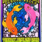 "Better Than Ezra with Tyrone Wells promotional Thom Self 13"" x 19"" Concert Poster"