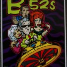"B-52's promotional Thom Self 13"" x 19"" Concert Poster"