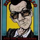 "Elvis Costello promotional Thom Self 13"" x 19"" Concert Poster"