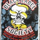 "Black Label Society with Sevendust promotional Thom Self 13"" x 19"" Concert Poster"