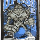 "DFest promotional Thom Self 12"" x 18"" Concert Poster"