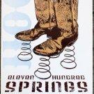 "Eleven Hundred Springs promotional Thom Self 13"" x 19"" Concert Poster"
