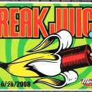 "Freak Juice promotional Thom Self 18"" x 12"" Concert Poster"