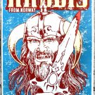 "Haggis for Norway promotional Thom Self 13"" x 19"" Concert Poster"