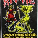 "Kittie with Soil & Arkaea & Straightline promotional Thom Self 13"" x 19"" Concert Poster"