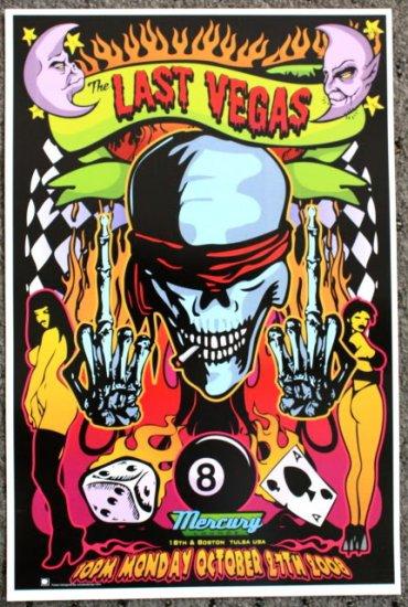 "Last Vegas promotional Thom Self 13"" x 19"" Concert Poster"